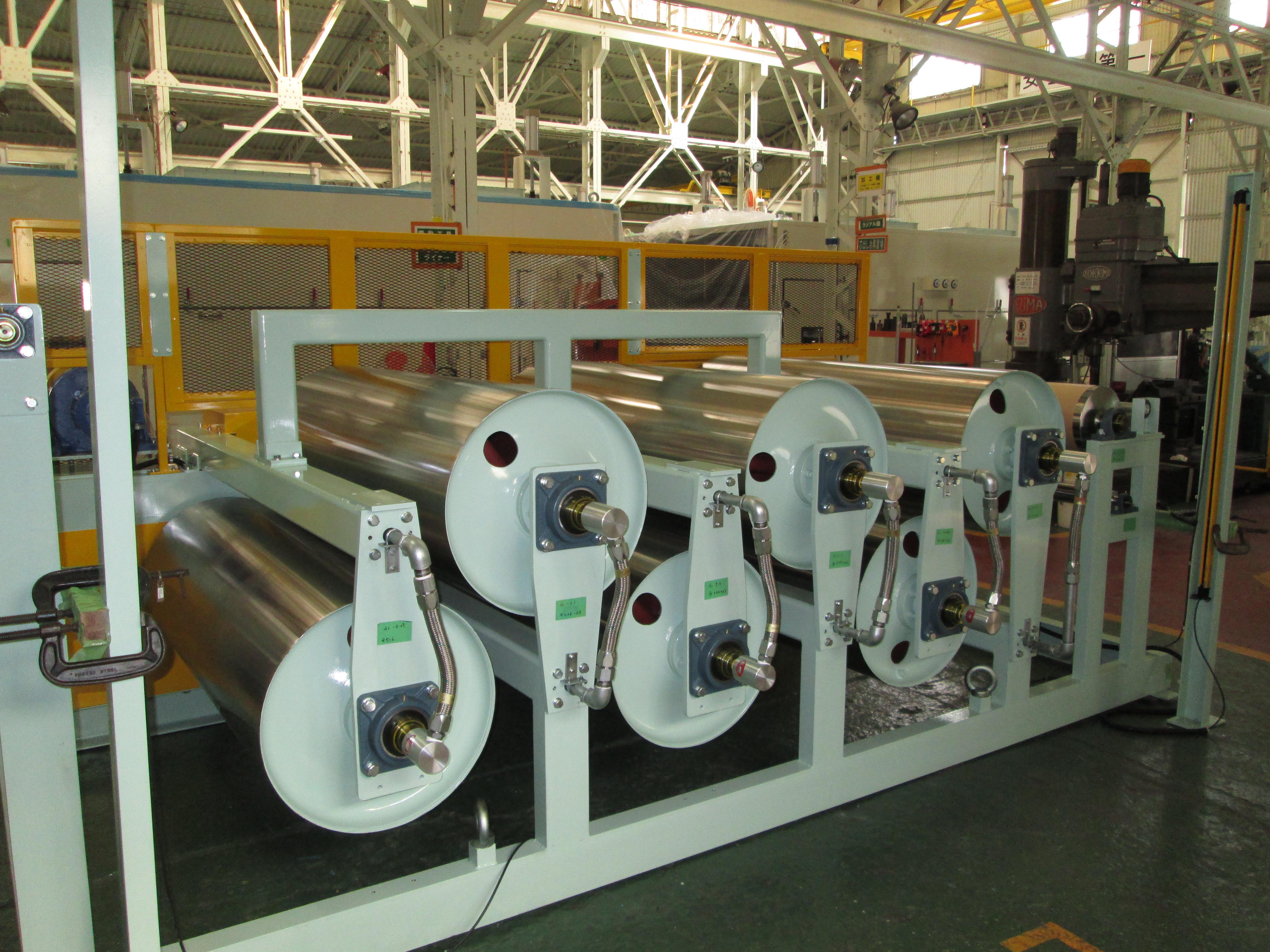 クーリング・加熱ドラム装置 製品写真