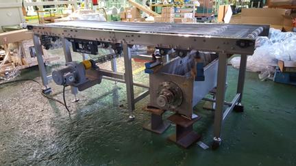 金属ベルト自動振動洗浄機 製品写真