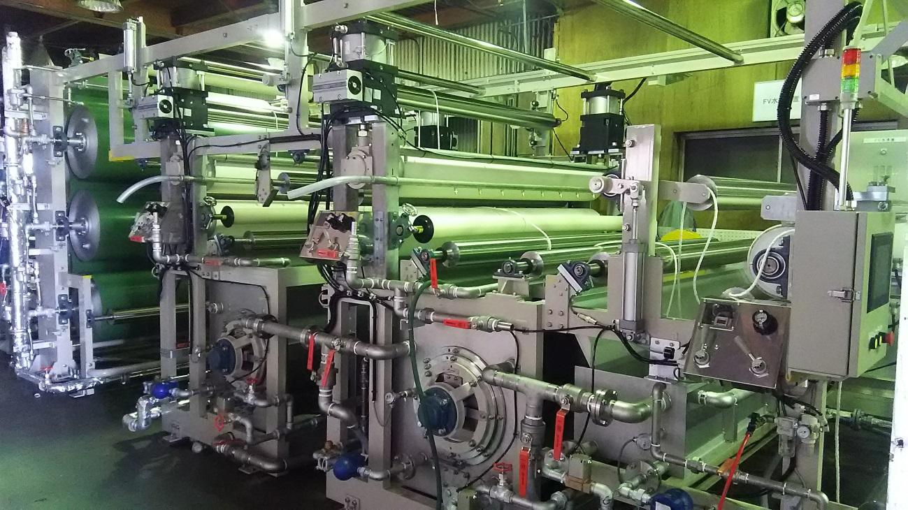 大型FV洗浄テスト機