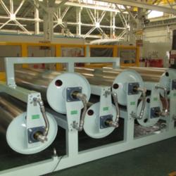 加熱・乾燥ドラム装置(ロールtoロール装置)